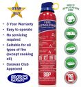 SSP Domestic Extinguisher for the Home, Caravan and Car