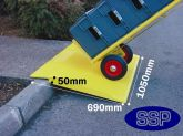 SSP Ramp 750kg SWL With Solar Powered Flashing Lights