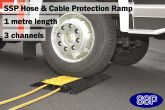 SSP Hose & Cable Protection Ramp (1m Large)