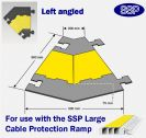 SSP Hose & Cable Protector Ramp XL Left Angle