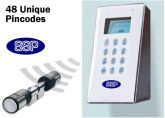 SSP Digital Wireless Multi-User Door Entry System (EuroCylinder/UPVc Doors)