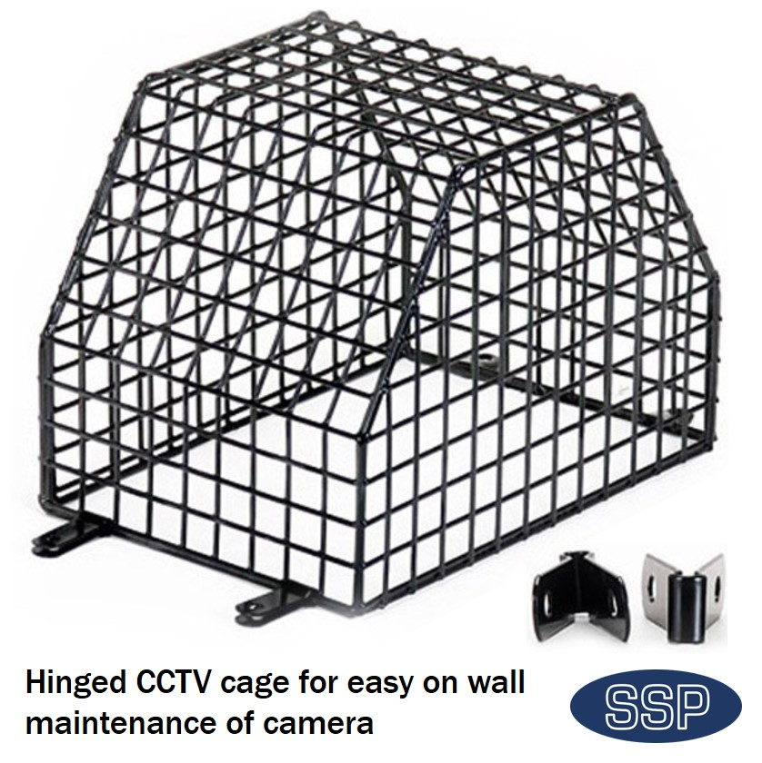 Heavy Duty Cctv Cage Pir Cage Flood Light Cage