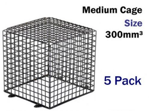 Surveillance Camera Cage Cctv Kit Cages 5 Pack 30cm