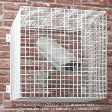 External Lighting Or Cctv Protector Cage 525h X 450w X