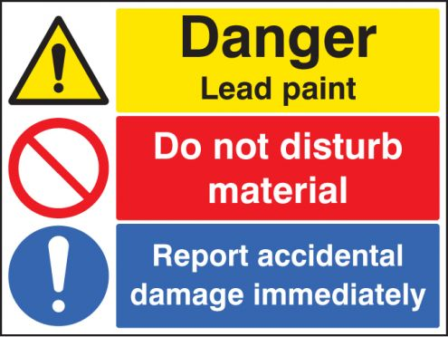 Danger lead paint do not disturb material report for What are the dangers of lead paint