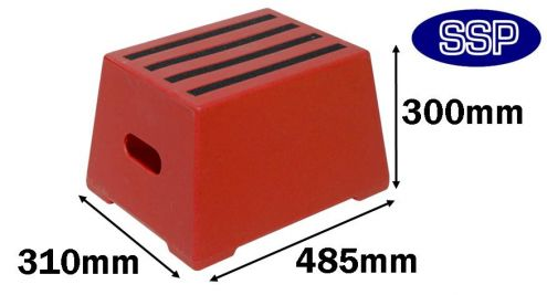Blue Safety Step Portable Horse Mounting Block One Step
