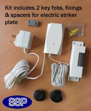 Remote Key Fob Door Entry System Domestic Small Office