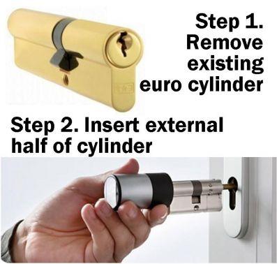 upvc door electric lock 2
