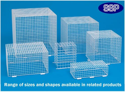 Clock Or Bell Protective Cage C9632 Protective Covers