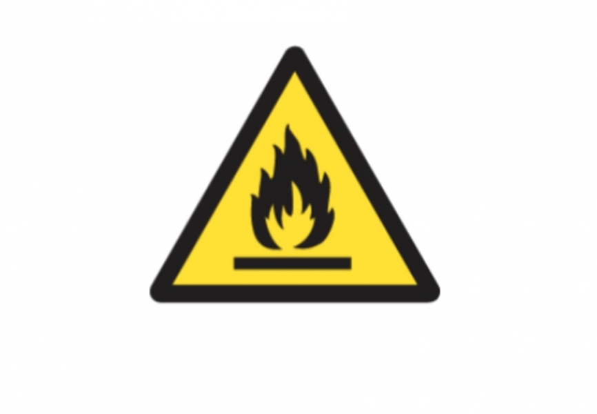 Flammable Risk Signs