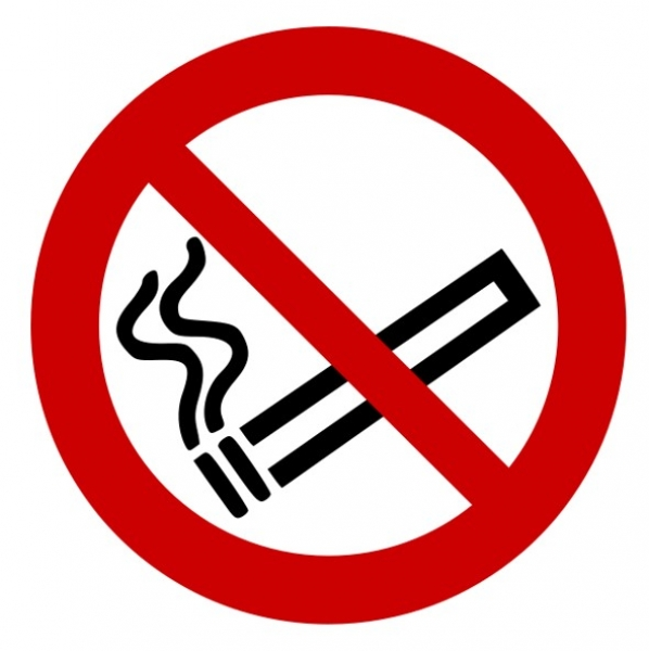 No Smoking Signs, Shelters and Bins