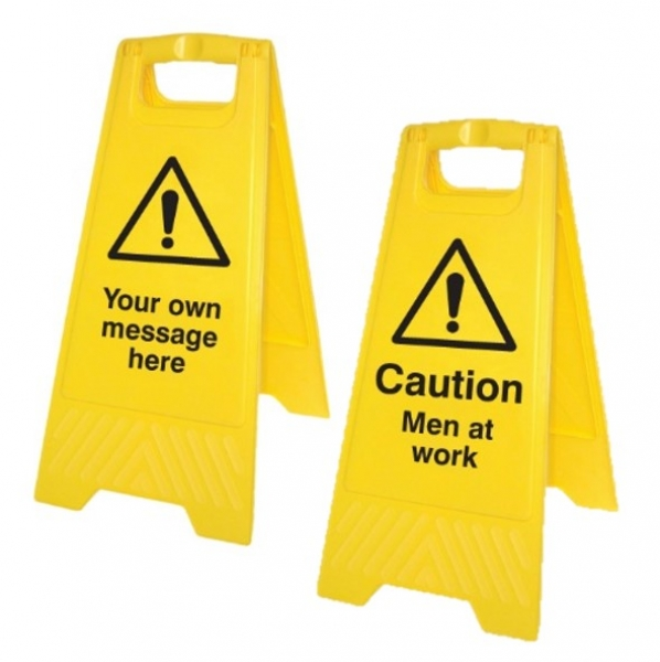 Free Standing Warning Signs