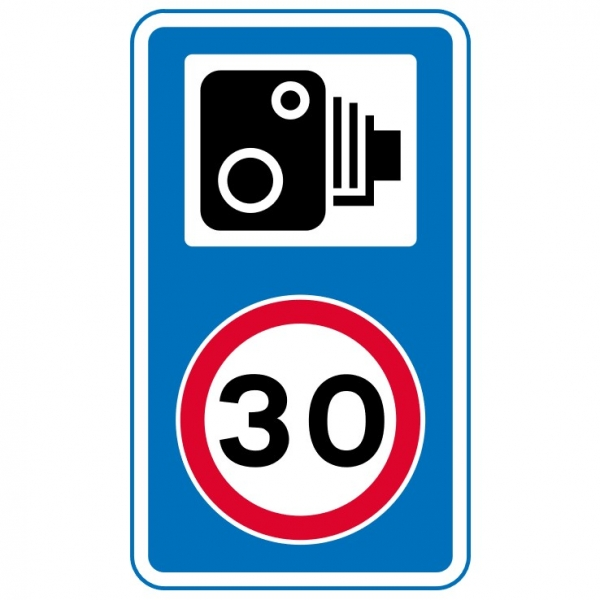 Traffic Camera Road Signs