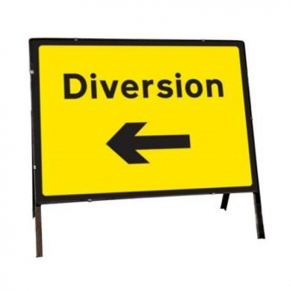 Diversion Road Signs