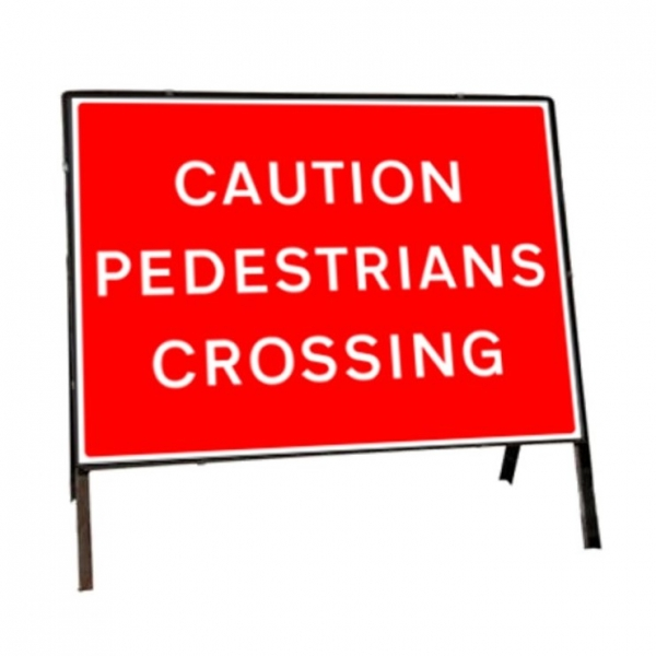 Pedestrians Road Signs
