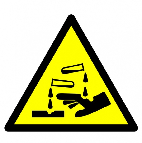 Harmful Substances Signs