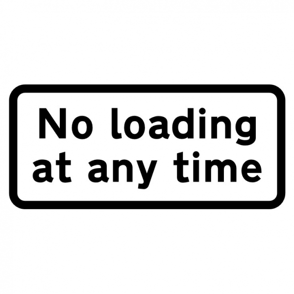 No Loading Signs
