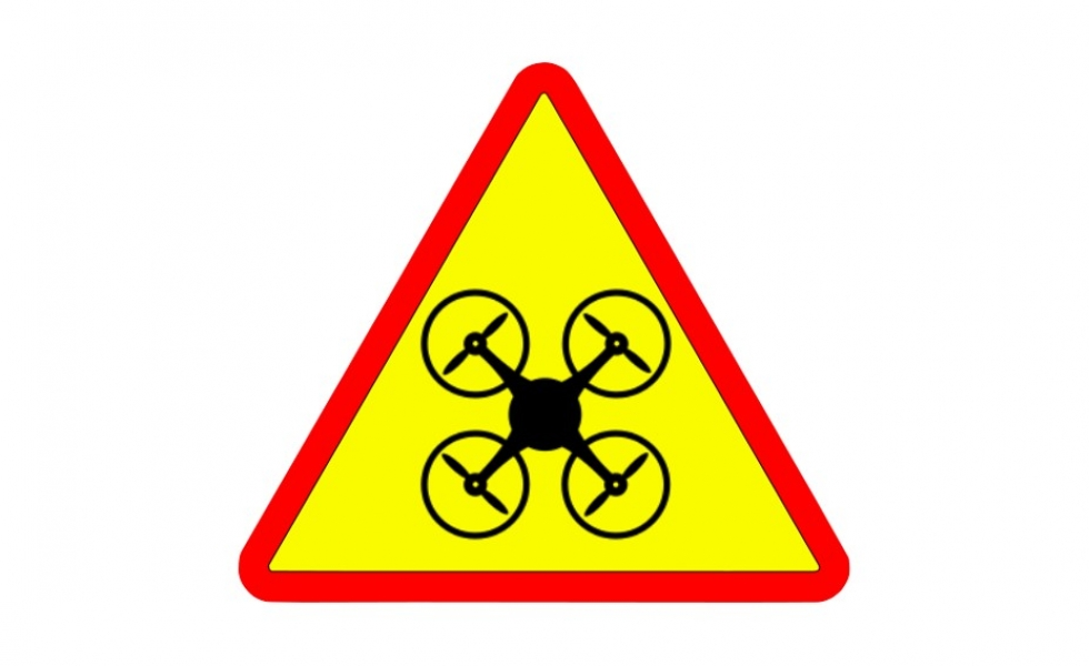 UAV and Drone Warning Signs