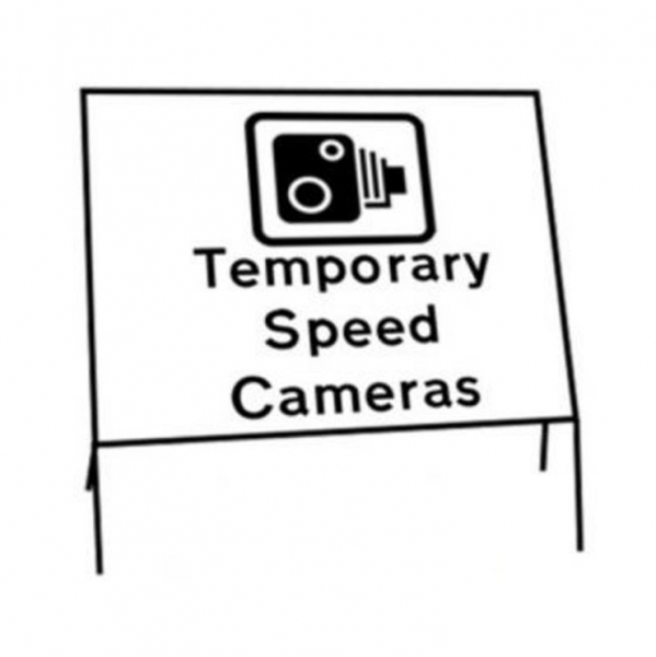 Temporary Speed Control Signs