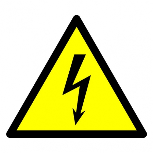 Electrical Warning Sign