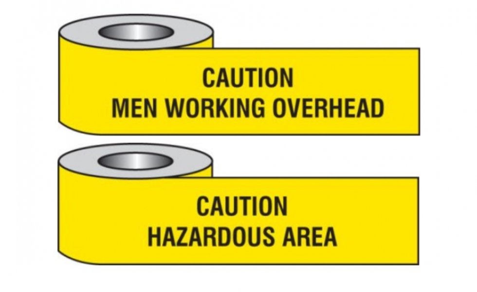 Warning Barrier Tapes