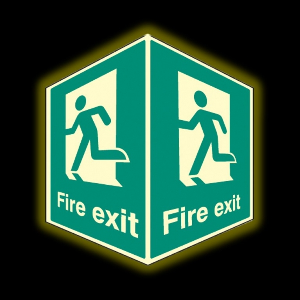Fire Exit Projecting Signs