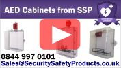 Defibrillator Defender AED Cabinet Video