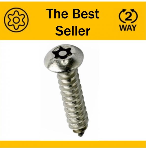 Pin Torx/6 Lobe Security Screws