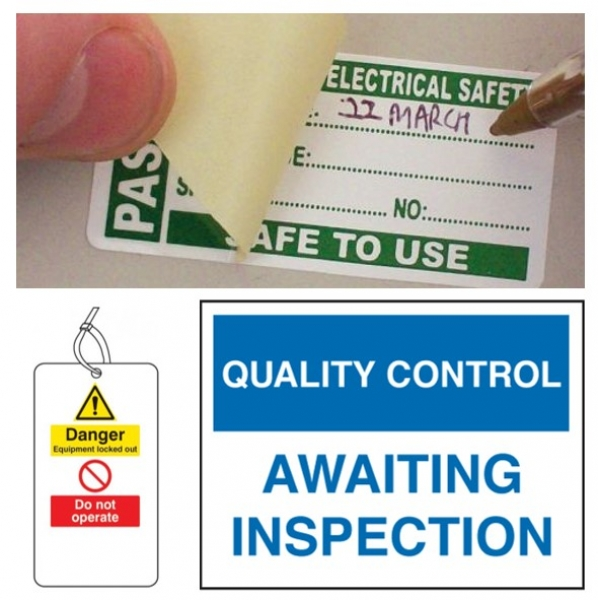Quality & Industrial Signs & Tags