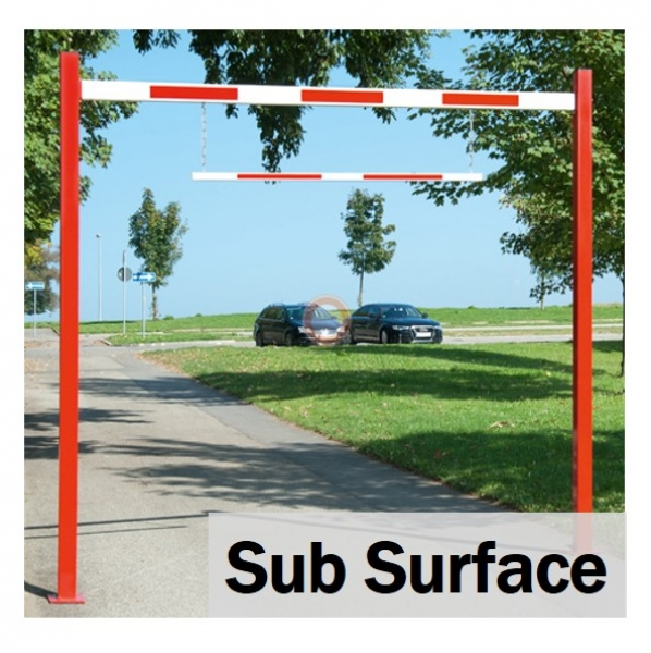 Fixed Sub Surface Height Restrictor Bars