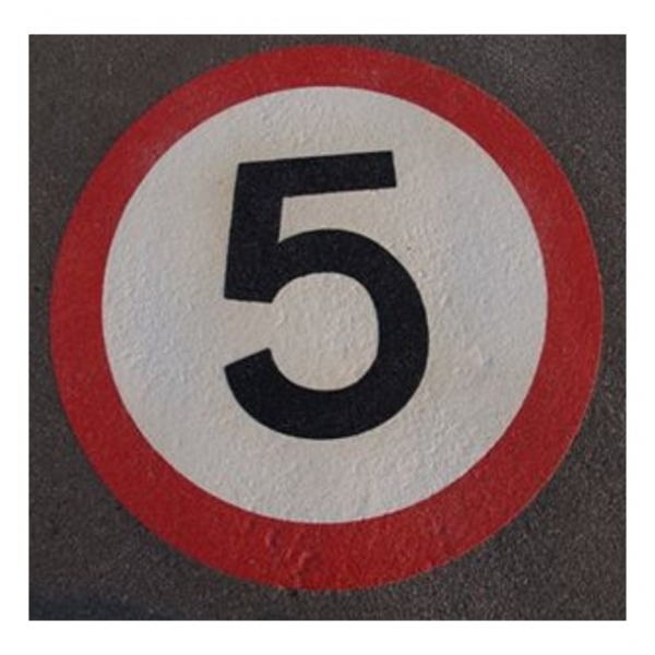 Speed Limit Symbols