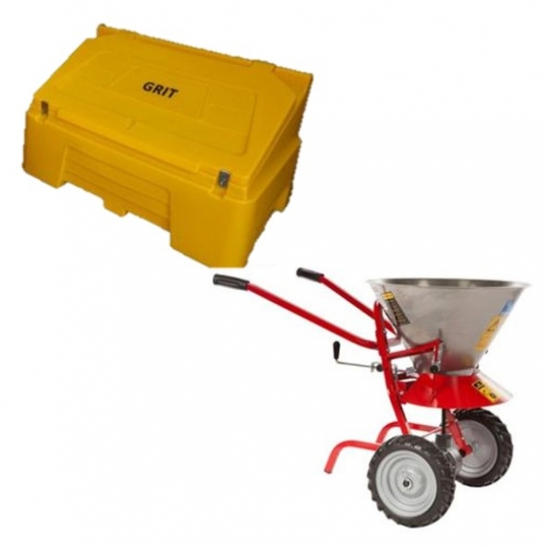 Grit Bins & Spreaders