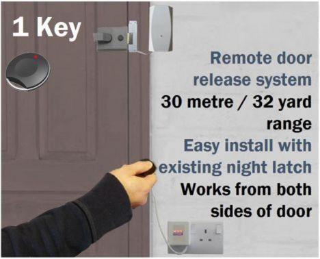 Wireless Key Fob Door Entry System Homedisabledoffice 1 Key Only