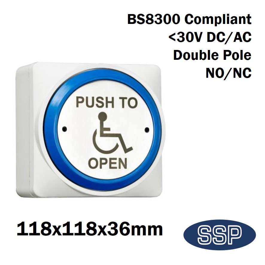 SSP Extra Large Momentary DDA Compliant Disabled Push to Open (Automated Doors) Button ...  sc 1 st  SSP Direct & SSP Extra Large Momentary DDA Compliant Disabled Push to Open ...