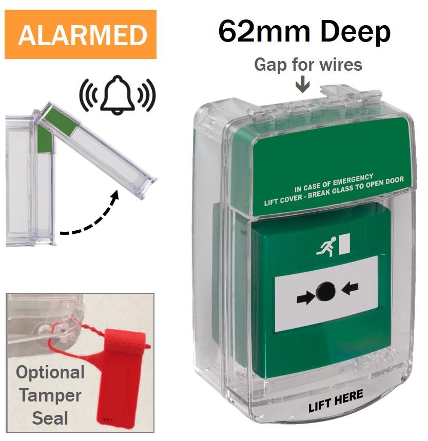 automatic alarm green STI - 15C20ML