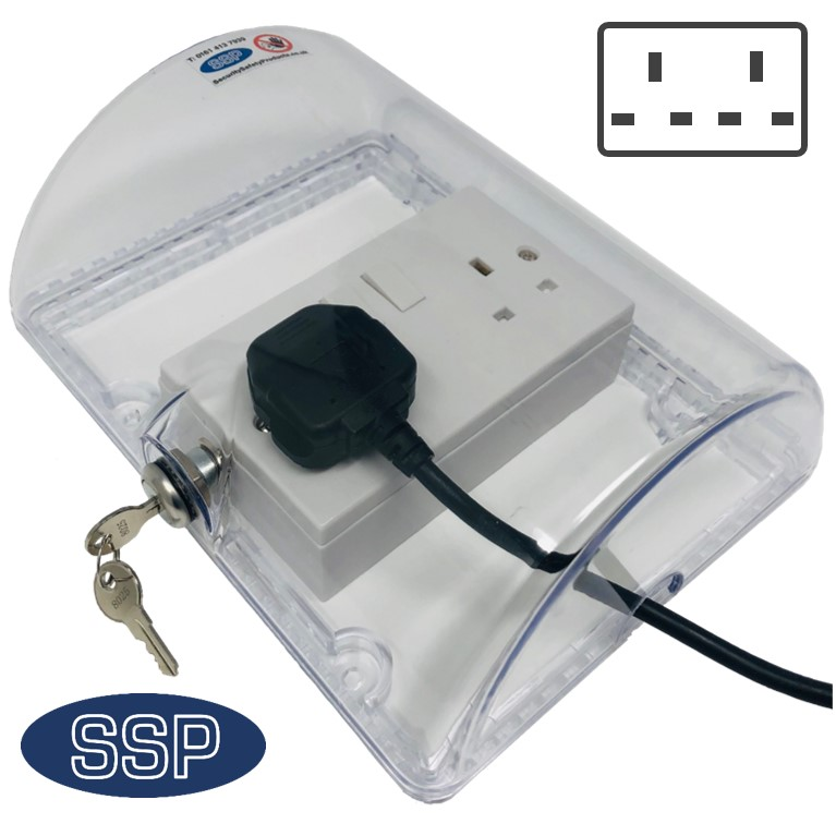 Clearstop Locking Single And Double Plug Socket Cover
