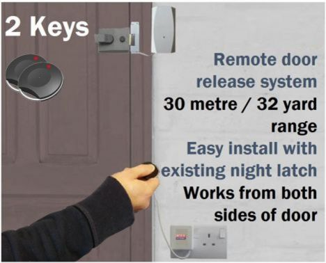 Remote Key Fob Door Entry System Domesticsmall Office
