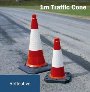 large heavy duty traffic cone