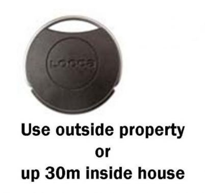 Key Fob For Domestic Keyless Lock Door Entry System Ssp Direct
