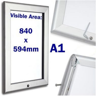 extra large lockable snap poster frame a1 ssp direct