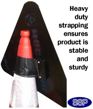 Men at work Reflective Traffic Cone Sign