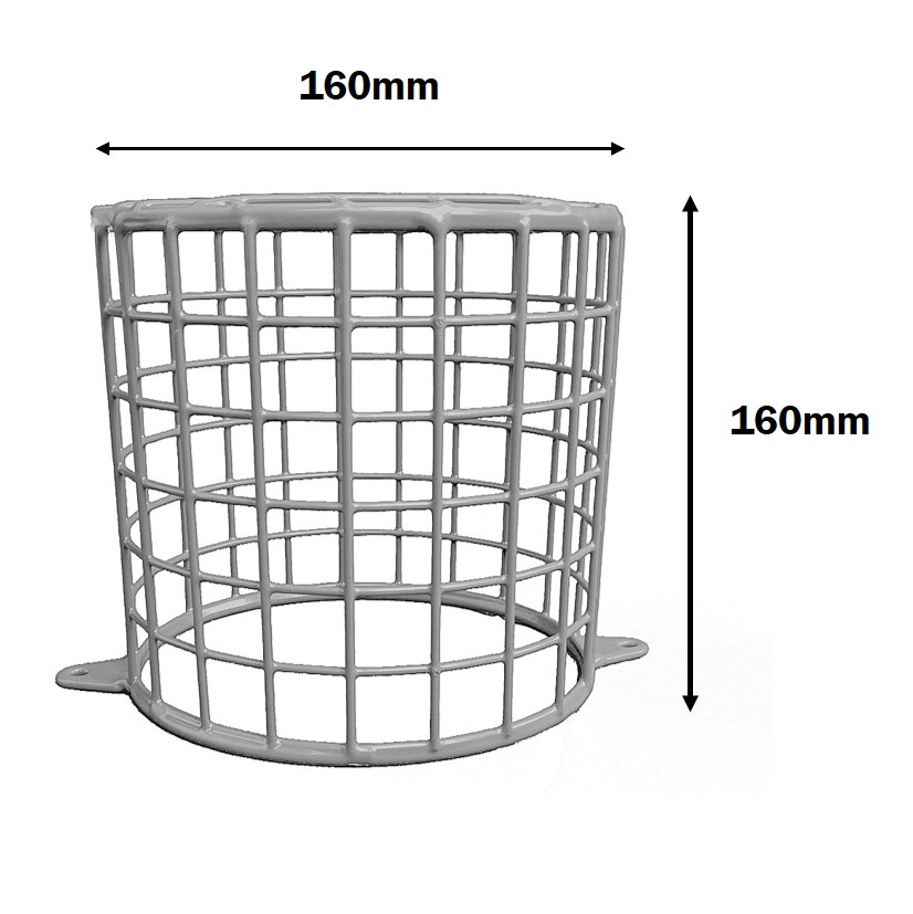 Halogen lamp cage
