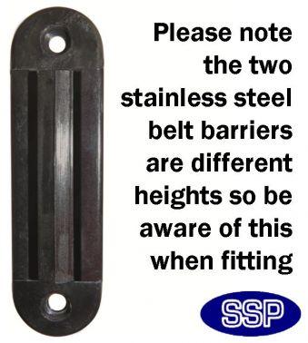 Belt Post Barrier clip