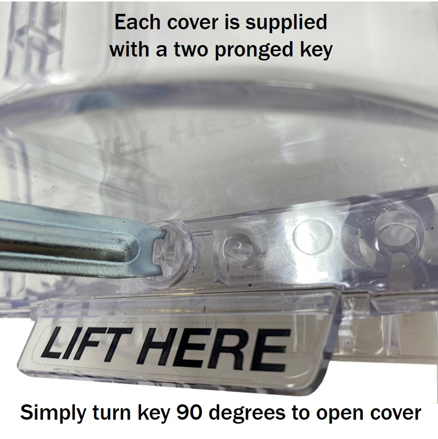 gas shut off point covers