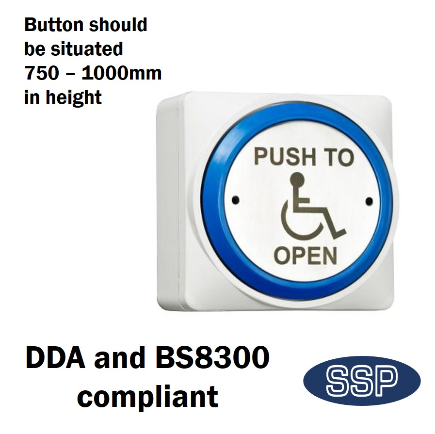 SSP Large Momentary DDA Compliant Disabled Push to Open (Automated Doors) Button | SSP Direct  sc 1 st  SSP Direct & SSP Large Momentary DDA Compliant Disabled Push to Open (Automated ...