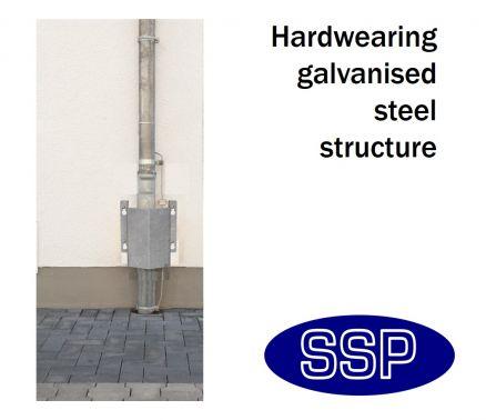 Diy Materials Galvanised Corner Wall Pipe Guard Other Diy Materials