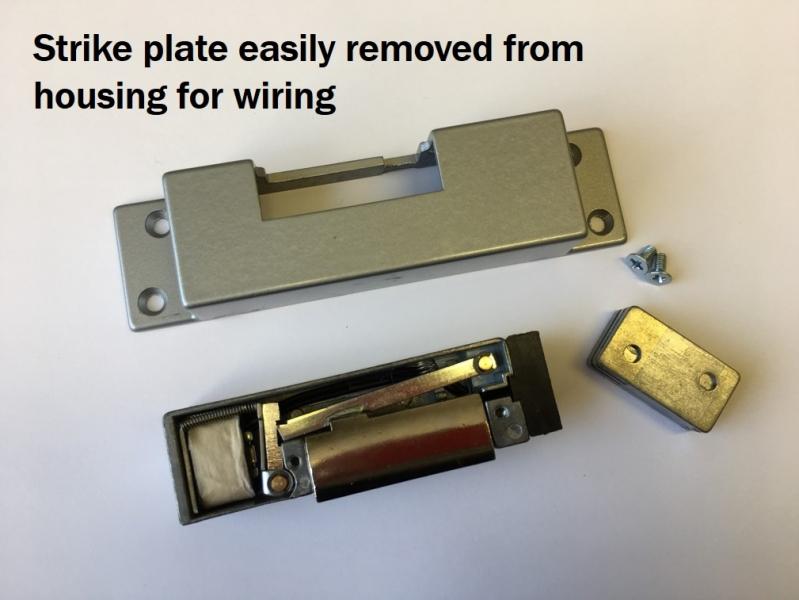 electric striker plate