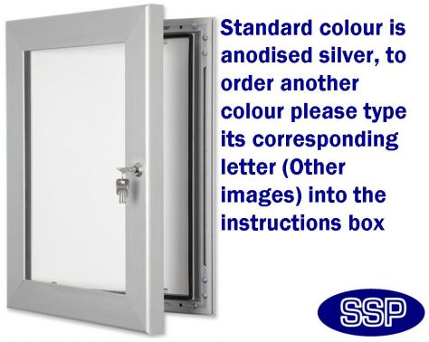 SSP Outdoor Poster cabinet with Light (A3) | SSP Direct