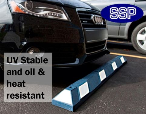 Car parking bay wheel stop