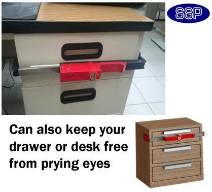 BloxSafe Adjustable Portable Hotel Safe | Drawer Lock | SSP Direct